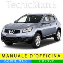 Manuale officina Nissan Qashqai (2006-2014) (EN)