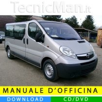 Manuale officina Opel Vivaro I (2001-2014) (EN-FR-ES)
