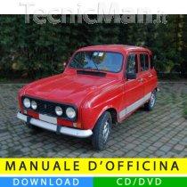 Manuale officina Renault 4 (1961-1993) (EN-FR-ES)