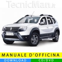 Manuale officina Renault Duster (2010-2014) (EN)