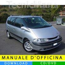 Manuale officina Renault Espace III (1997-2003) (EN-FR-ES)