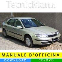 Manuale officina Renault Laguna II (2001-2007) (EN-FR-ES)
