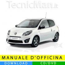 Manuale officina Renault Twingo (2007-2014) (EN-FR-ES)