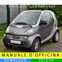 Manuale officina Smart Fortwo (1998-2007) (EN-IT-DE)