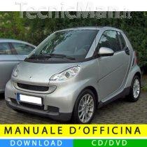 Manuale officina Smart Fortwo (2007-2014) (EN-IT-DE)