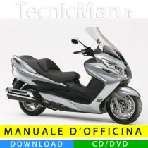 Manuale officina Suzuki Burgman 400 (2006-2007) (IT)