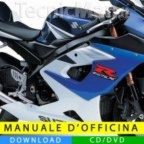 Manuale officina Suzuki GSX-R 1000 (2005-2006) (EN)