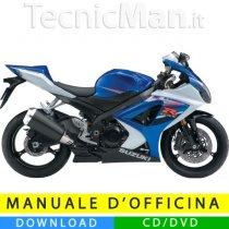 Manuale officina Suzuki GSX-R 1000 K7 (2007-2008) (EN)