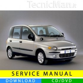 Manuale officina Fiat Multipla I (1998-2003) (MultiLang)
