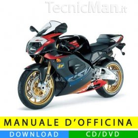 Manuale officina Aprilia RSV 1000 R (2003-2005) (IT)