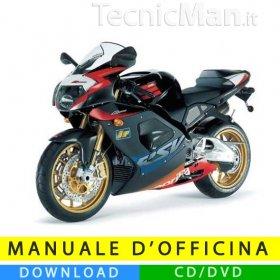 Manuale officina Aprilia RSV 1000 R (2003-2005) (IT)