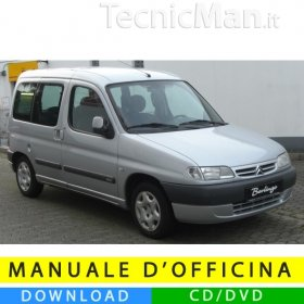 Manuale officina Citroen Berlingo I (1996-2007) (EN)