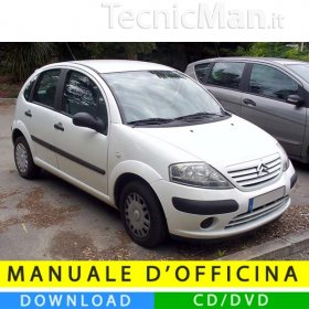 Manuale officina Citroen C3 (2002-2009) (IT)