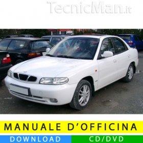 Manuale officina Daewoo Nubira J100/J150 (1997-2002) (EN)