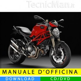 Manuale officina Ducati Monster 1100 EVO (2011-2013) (MultiLang)