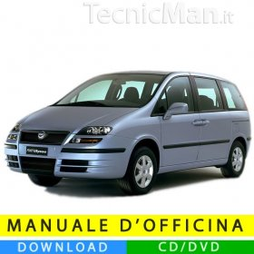 Manuale officina Fiat Ulysse (2002-2010) (Multilang)