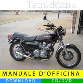 Manuale officina Honda CB 750 K/C/F (1979-1983) (EN)