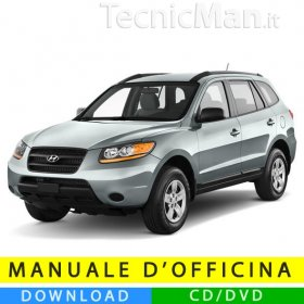 Manuale officina Hyundai Santa Fe (2006-2012) (EN)