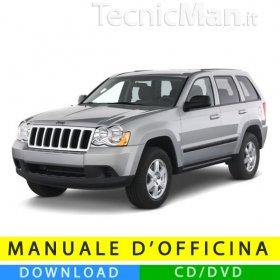 Manuale officina Jeep Grand Cherokee (2005-2010) (EN)