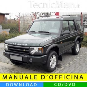Manuale officina Land Rover Discovery II (1998-2004) (EN)