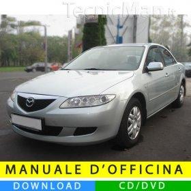 Manuale officina Mazda 6 (2002-2008) (EN)