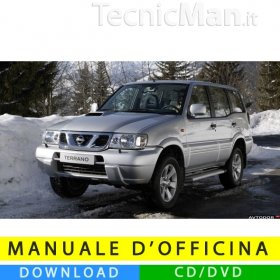 Manuale officina Nissan Terrano II (1993-2006) (EN)