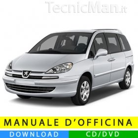 Manuale officina Peugeot 807 (2002-2014) (Multilang)