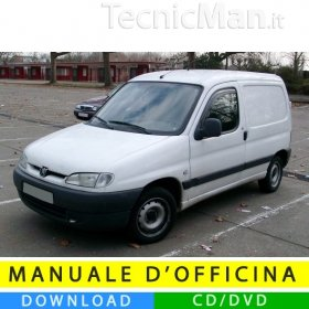 Manuale officina Peugeot Partner/Ranch I (1996-2007) (EN)