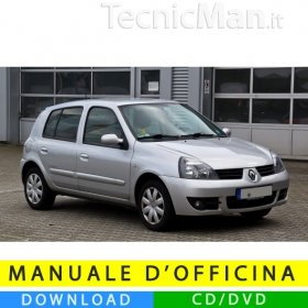 Manuale officina Renault Clio 2 (1998-2012) (MultiLang)