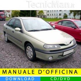 Manuale officina Renault Laguna I (1994-2001) (EN-FR-ES)