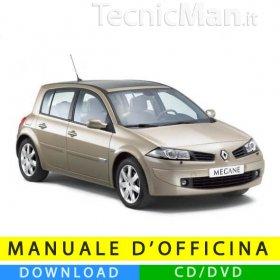 Manuale officina Renault Megane II (2002-2008) (EN-FR-ES)