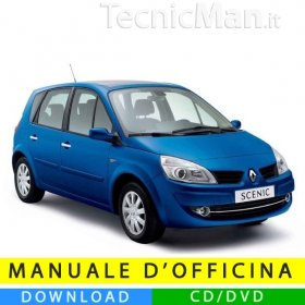 Manuale officina Renault Scenic 2 (2003-2009) (EN)