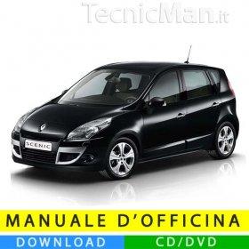 Manuale officina Renault Scenic 3 (2009-2016) (EN)