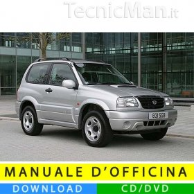 Manuale officina Suzuki Grand Vitara (1998-2005) (EN)