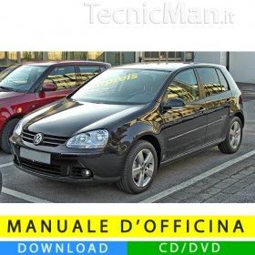 Manuale officina Volkswagen Golf V (2003-2008) (IT)