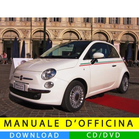 Manuale Officina Fiat Nuova 500  2007