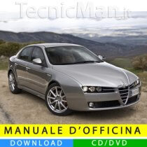 Manuale officina Alfa Romeo 159 (2005-2013) (Multilang)