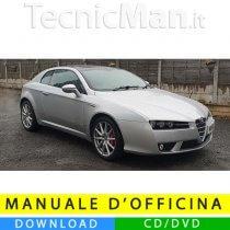 Manuale officina Alfa Romeo Brera (2005-2010) (Multilang)