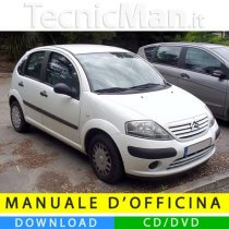 Manuale officina Citroen C3 (2002-2009) (IT)