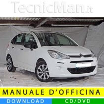 Manuale officina Citroen C3 (2009-2016) (IT)