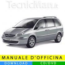 Manuale officina Citroen C8 (2002-2014) (Multilang)