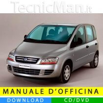 Manuale officina Fiat Multipla II (2004-2010) (MultiLang)