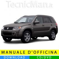 Manuale officina Suzuki Grand Vitara (2005-2015) (EN)