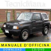 Manuale officina Suzuki Vitara (1988-1998) (EN)