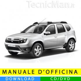 Manuale officina Dacia Duster (2010-2014) (EN)