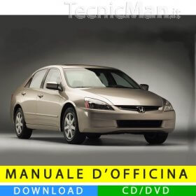 Manuale officina Honda Accord (2003-2007) (EN)