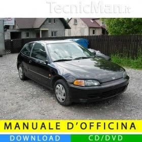 Manuale officina Honda Civic V (1992-1995) (EN)