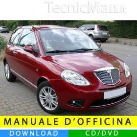 Manuale officina Lancia Ypsilon (2003-2011) (MultiLang)