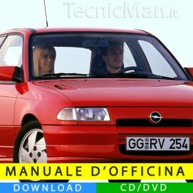 Manuale officina Opel Astra F (1991-1998) (EN)