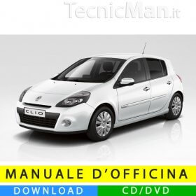 Manuale officina Renault Clio 3 (2005-2012) (MultiLang)